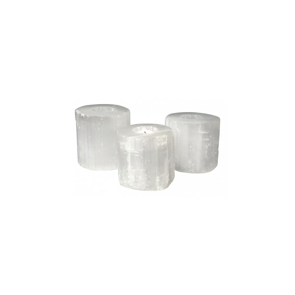 Selenite Tealight Holder Small