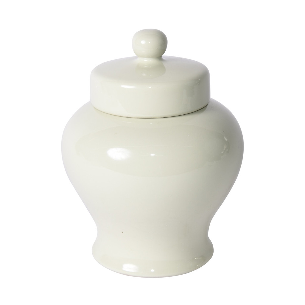 Pale Green Gigi Lidded Jar - 2 Sizes