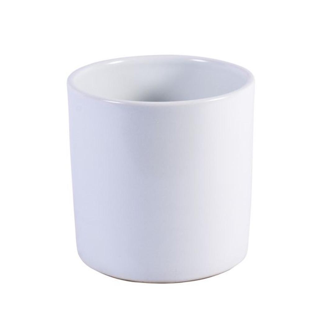 Matt White Orchid Pot - 2 Sizes