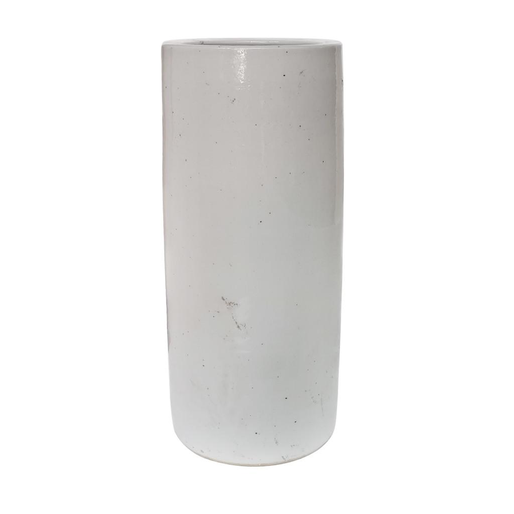 Busan White Umbrella Vase
