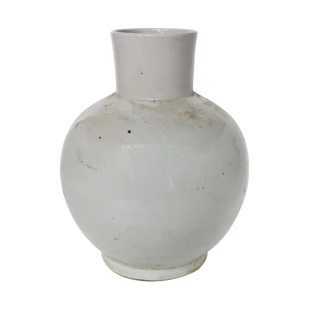 Busan White Balloon Jar - 2 Sizes
