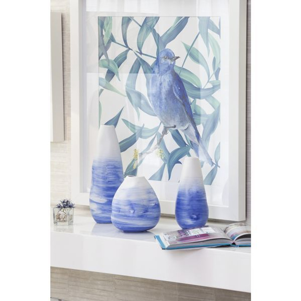 Vase Scott Blue - 3 Sizes
