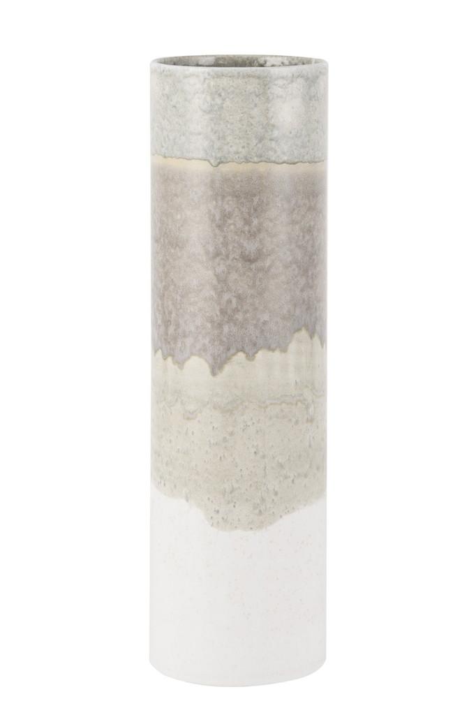 Vase Carter Gray Brown White - 3 Sizes
