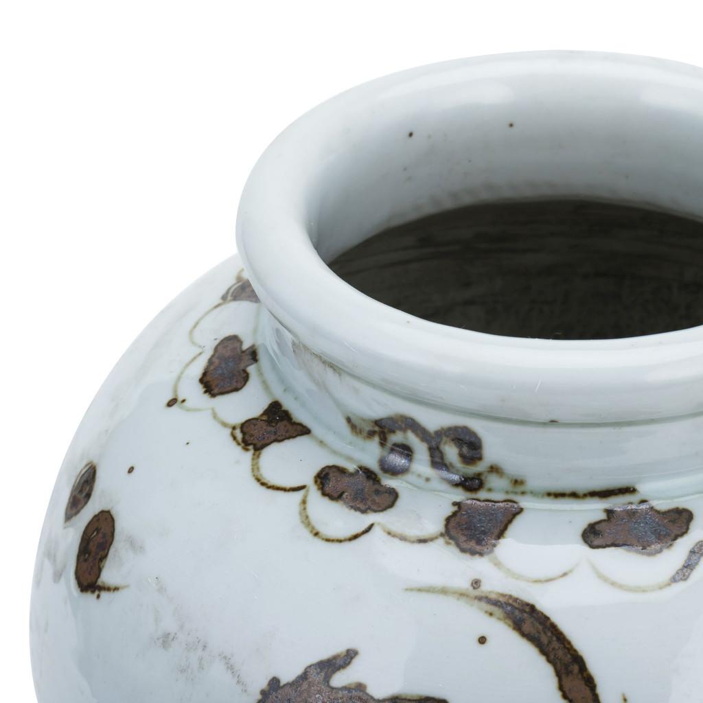 Rusty Brown Small Jar Phoenix