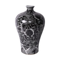 Black Dragon Prunus Vase