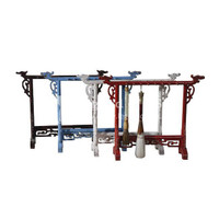 Jewelry Calligraphy Brush Stand Distressed Finish - Specify Color On Order