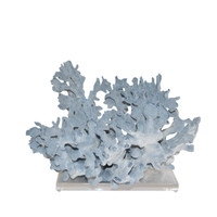 Blue Coral 18-20 Inch On Acrylic Base