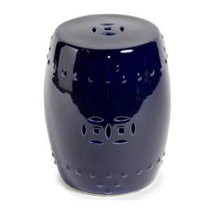 Garden Stool - Cobalt Blue