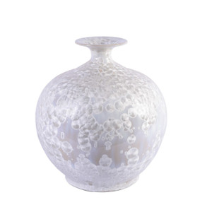 Crystal Shell Pomegranate Vase