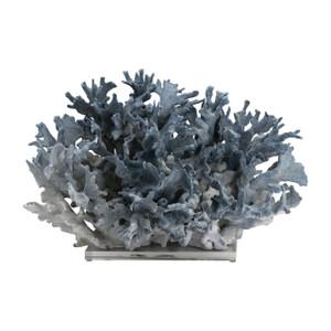 Blue Coral Creation On Acrylic Base