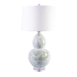 Celadon Lotus Gourd Lamp