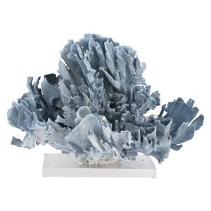 Blue Coral Creation On Acrylic Base S