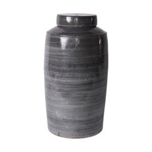 Iron Gray Tea Jar