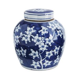 Blue And White Ming Jar Plum Blossom