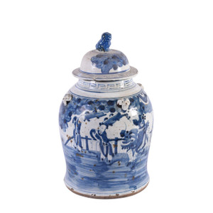 Vintage Temple Jar Enchanted Children Motif - 2 Sizes