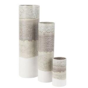 Vase Carter Gray White - 3 Sizes