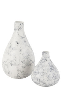 Vase Clark Marblized - 2 Sizes
