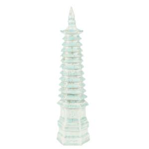 Light Celadon Cracked Pagoda