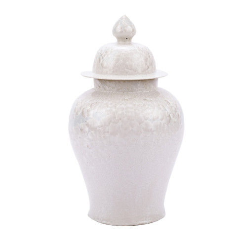 Crystal Shell Temple Jar - L