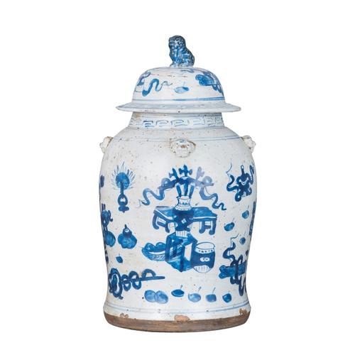 Vintage Temple Jar Symbol Motif - 2 Sizes