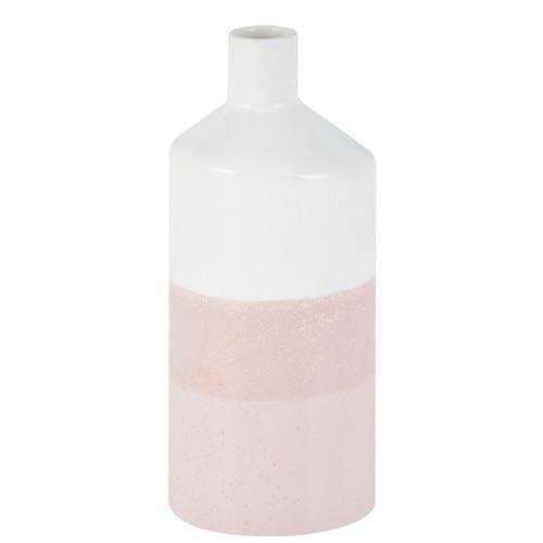 Vase Irving Blush Pink White M