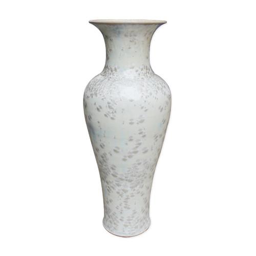 Crystal Shell Fish Tail Vase - L