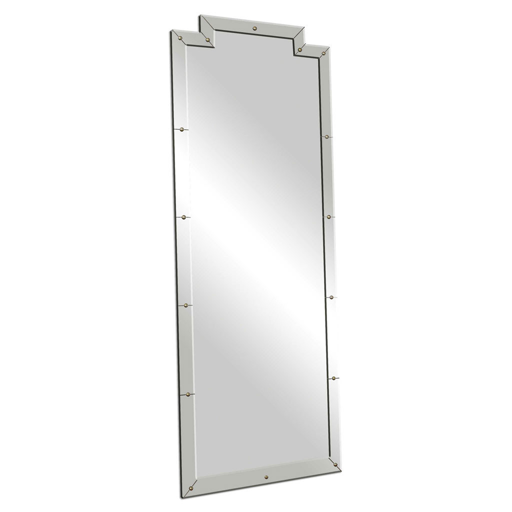 Uttermost Vedea Leaner Mirror full length dressing room wall floor