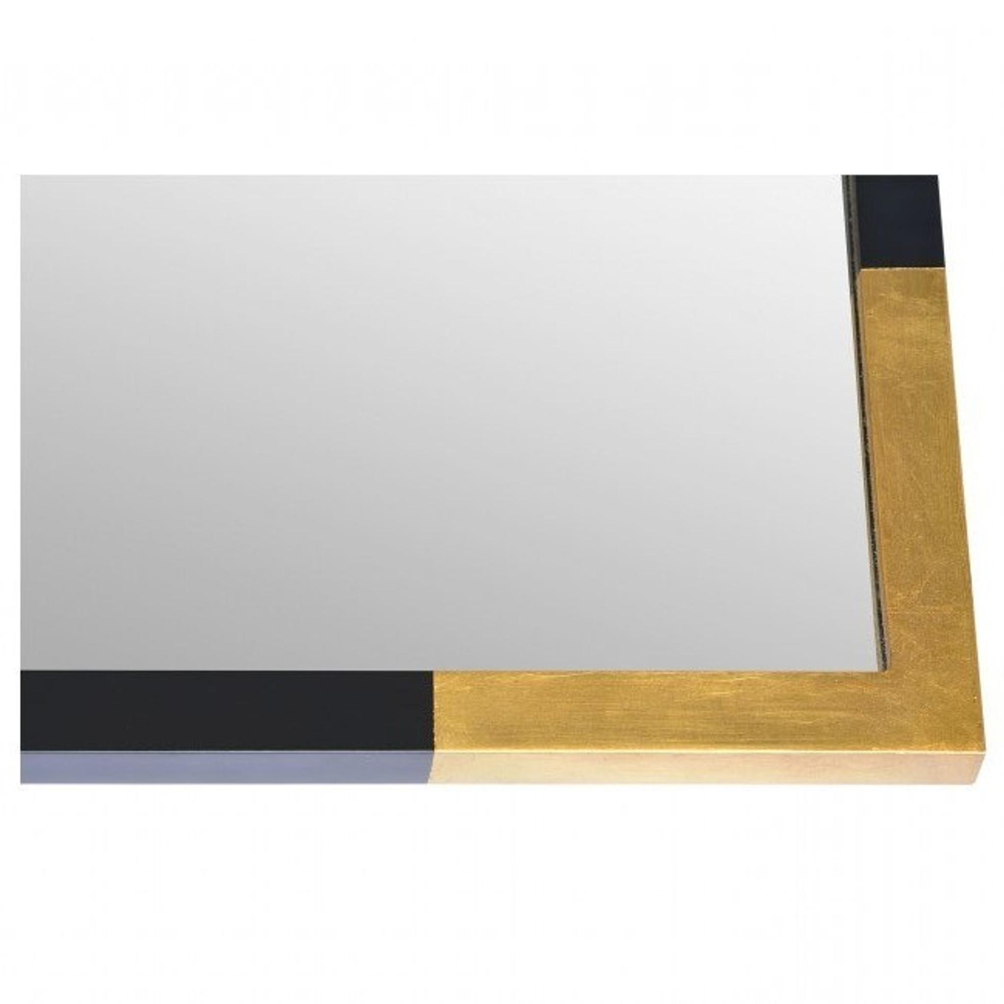 renwil Osmond black gold sexy chic elegant Hollywood glam modern wall mirror