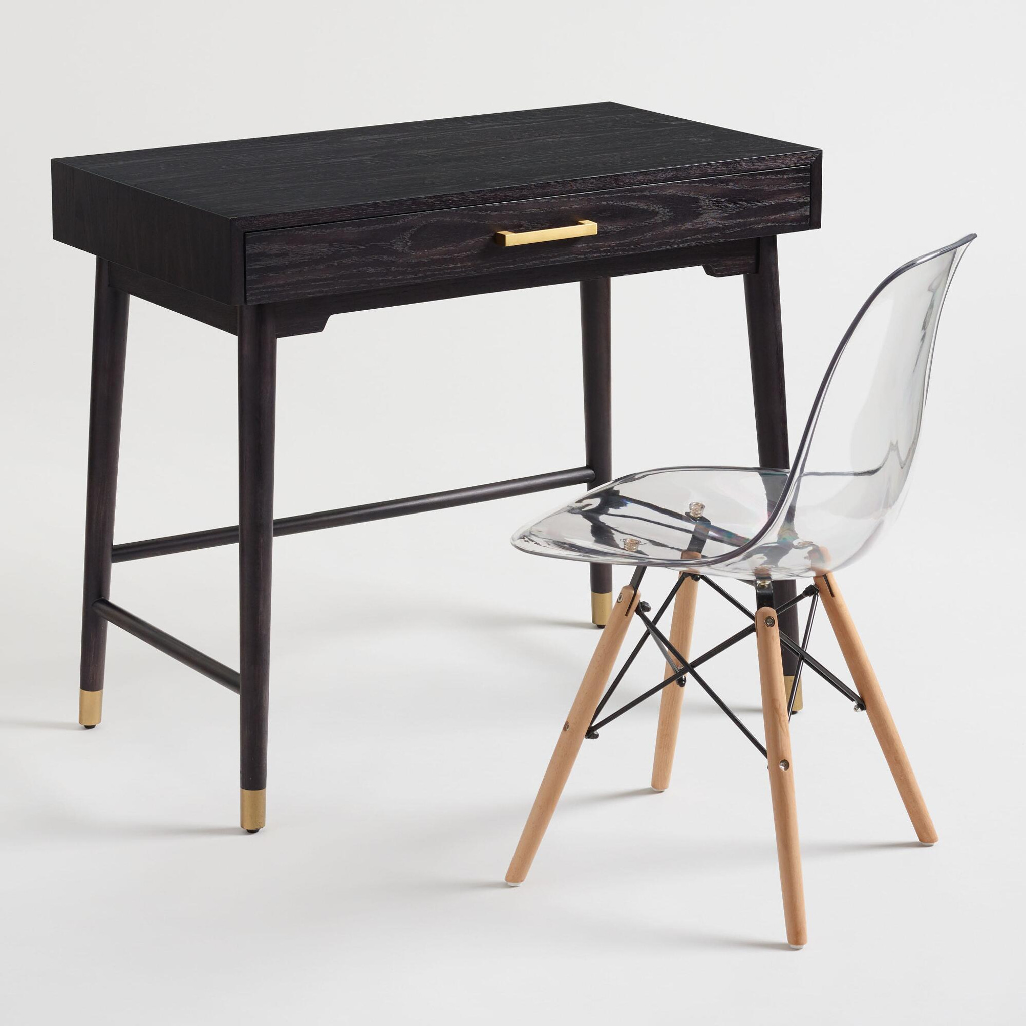 eames replica wood Eiffel leg mid century modern plastic molded side chair