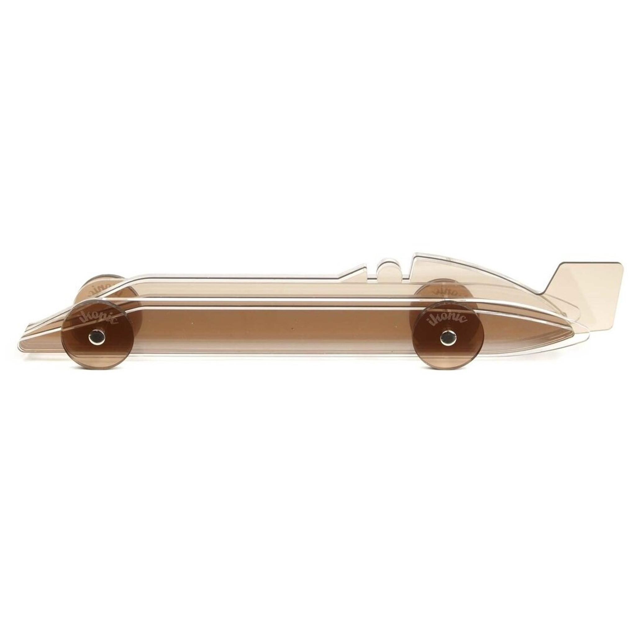 Lucite Color Car Model Sculpture acrylic mens desk accessory gift boys