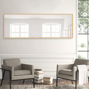 Modern Minimal Frame Leaner Floor Standing Mirror,