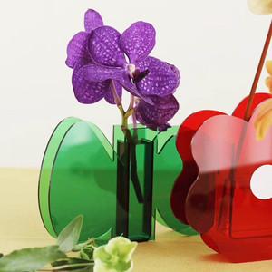Kids Modern Lucite Flower Vases