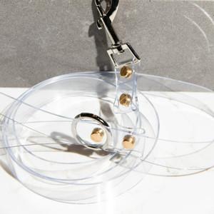 Clear Acrylic Pet Leash vinyl transparent plastic dog