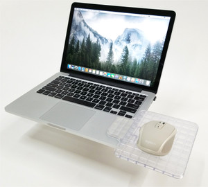 Clear Attachable Mouse Pad Holder
