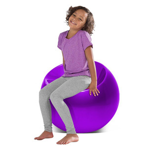 Acrylic Bright Color Ball Chair, Color Options