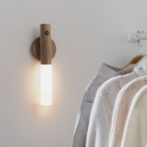 Wood and Frosted Acrylic Light Stick, Options (Smart LED Torch)