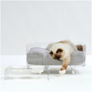 Clear Acrylic Pet Bed by Hiddin