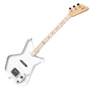 Loog Pro Electric - Lucite clear acrylic see through play guitar
