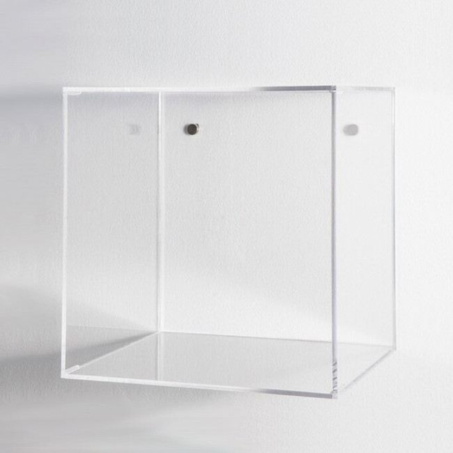 acrylic wall storage cubes for kids rooms clear color lucite easy to hang