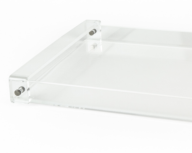 extra large acrylic serving tray with handles tizo lucite wholesale