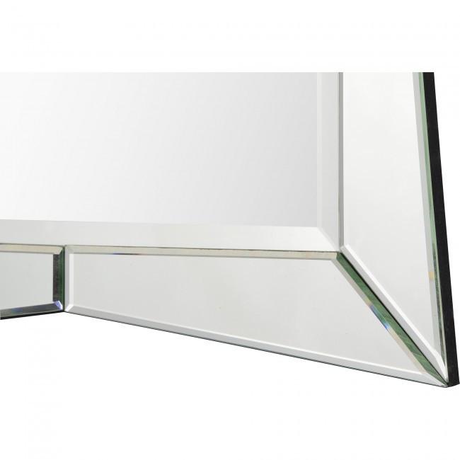 venetian beveled all glass mirror art deco Hollywood glam renwil merritt