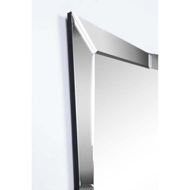 modern venetian glam frameless rectangular wall mirror renwil merritt