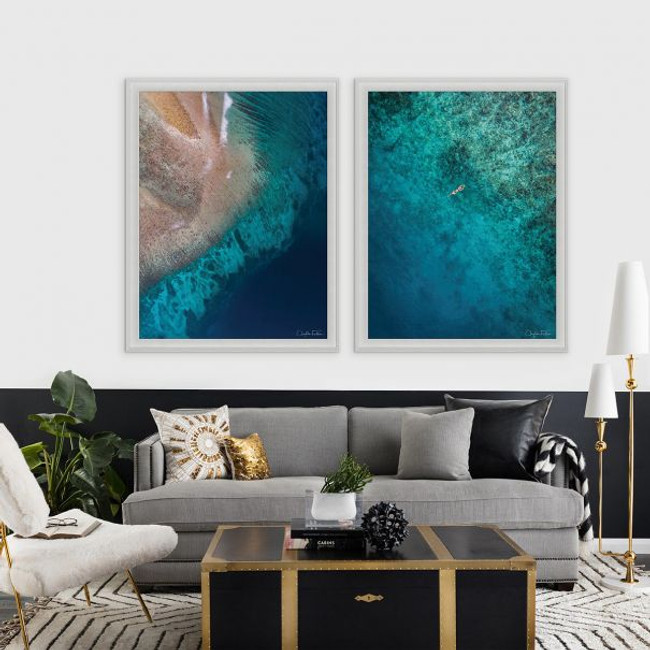 Natural Curiosities Folden Float Fine Photography Wall Art with Acrylic Frame