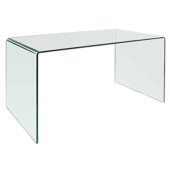 modern tempered glass waterfall parsons style 50