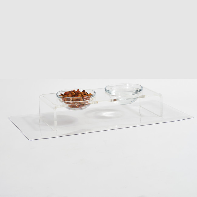 Clear Vinyl Floor Protector or Placemat