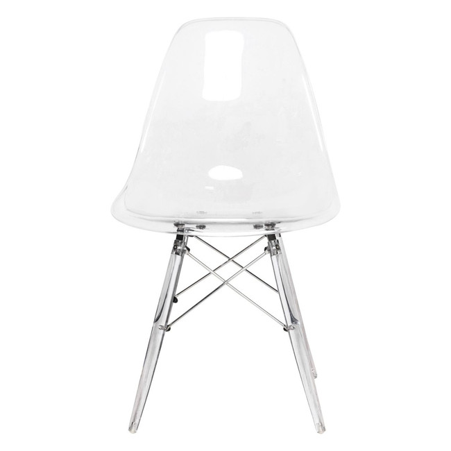 eames Eiffel chair khazana clear leg Eiffel base best price