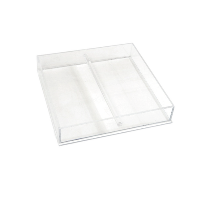 Clear Acrylic Valet Tray with Handle