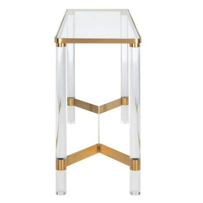 Suzanna Acrylic Console Table Design: SFV2551A