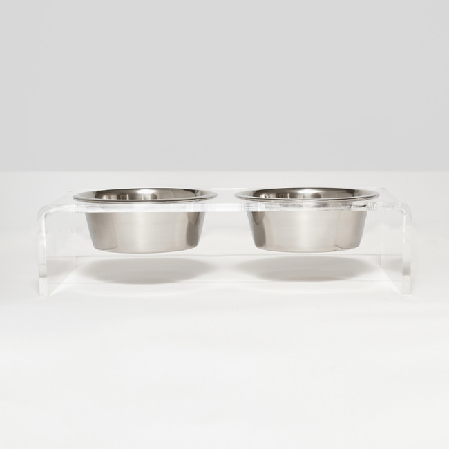 best lucite dog bowl stand double single bowl with metal bowl raised clear acrylic stand tall clearhomedesign dish appear