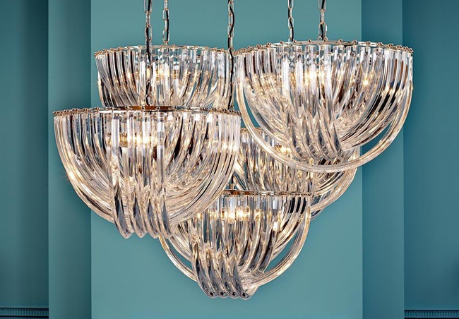 Let There Be Light: Lucite Light Fixtures